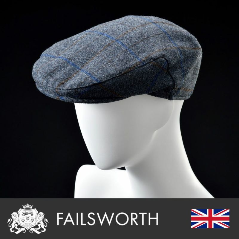 帽子 ハンチング FAILSWORTH(フェイルスワース) Moon Cambridge(ムーン ケンブリッジ)490