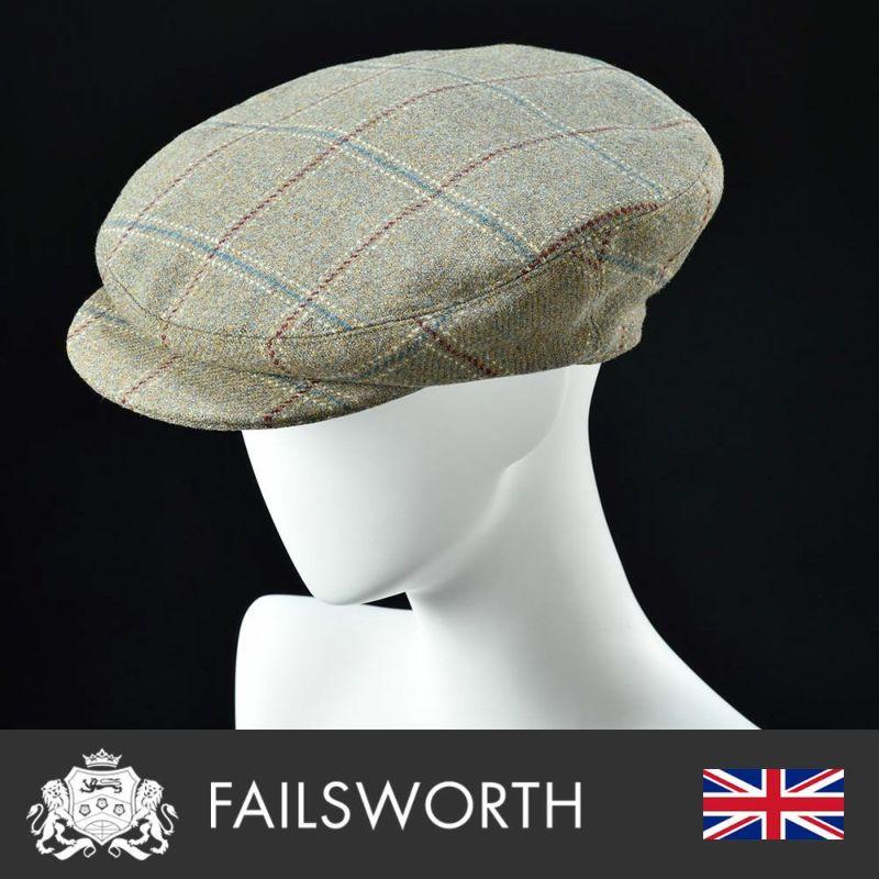 帽子 ハンチング FAILSWORTH(フェイルスワース) James(ジェームス)1182