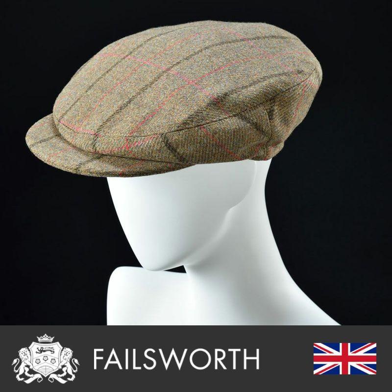 帽子 ハンチング FAILSWORTH(フェイルスワース) James(ジェームス)1185