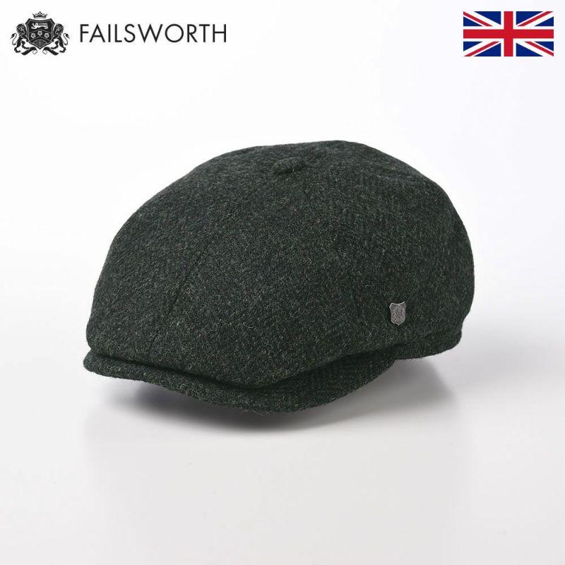 帽子 ハンチング FAILSWORTH(フェイルスワース) Harris Tweed Hudson(ハリスツイード ハドソン)33