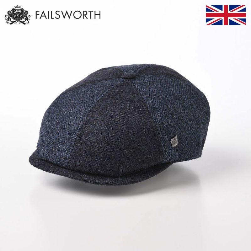 帽子 ハンチング FAILSWORTH(フェイルスワース) Mallalieus Hoxton(マラリウス ホクストン)ブルー