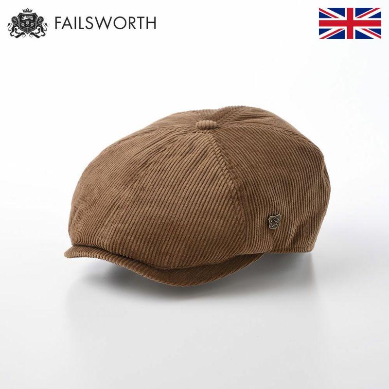 帽子 ハンチング FAILSWORTH(フェイルスワース) Hudson Corduroy(ハドソン コーデュロイ)ファウン