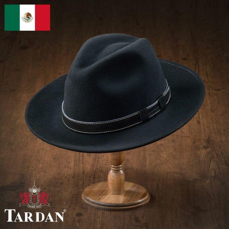 帽子 フェルトハット TARDAN(タルダン) SIDNEY(シドニー)ブラック