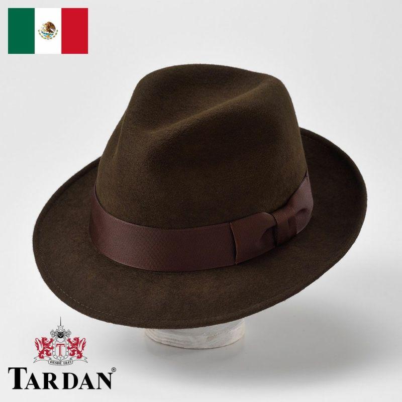 帽子 フェルトハット TARDAN(タルダン) FERRARO CONFORT(フェラーロ コンフォート)ブラウン