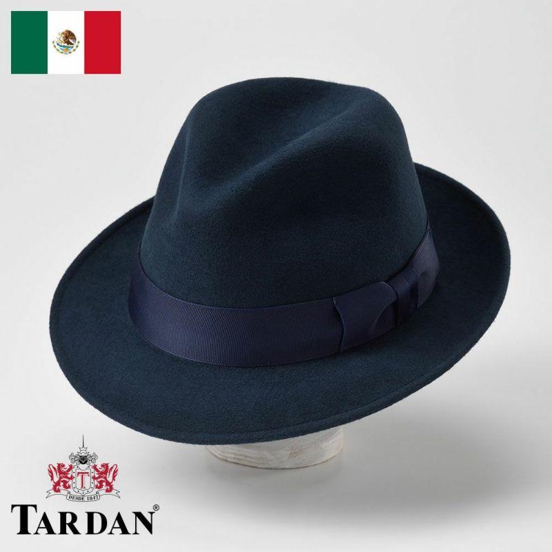 帽子 フェルトハット TARDAN(タルダン) FERRARO CONFORT(フェラーロ コンフォート)ネイビー