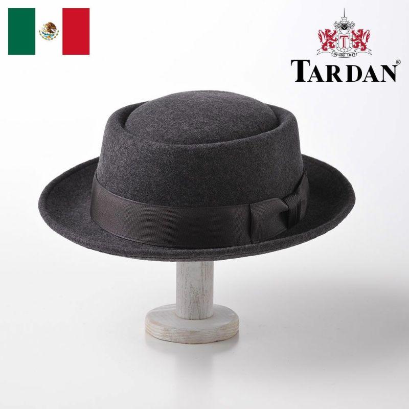 帽子 フェルトハット TARDAN(タルダン) PORK-PIE CONFORT(ポークパイ コンフォート)グレー