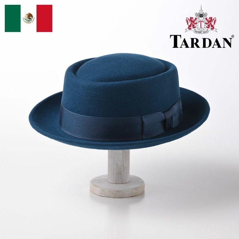帽子 フェルトハット TARDAN(タルダン) PORK-PIE CONFORT(ポークパイ コンフォート)ロイヤルブルー
