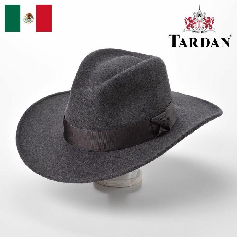 帽子 ウエスタンハット TARDAN(タルダン) CASSIDY CONFORT(キャシディー コンフォート)グレー
