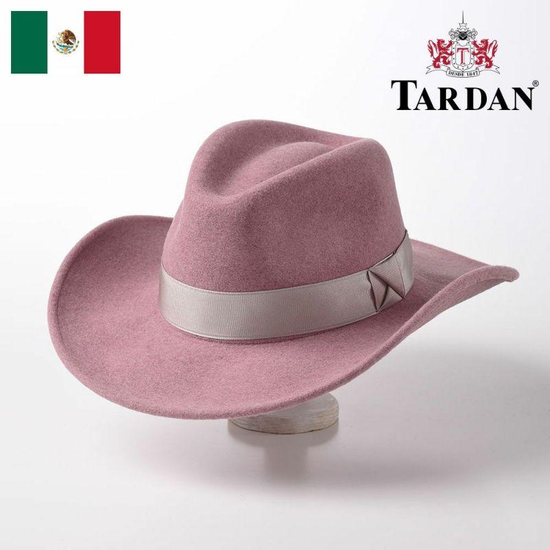 帽子 ウエスタンハット TARDAN(タルダン) CASSIDY CONFORT(キャシディー コンフォート)ピンク