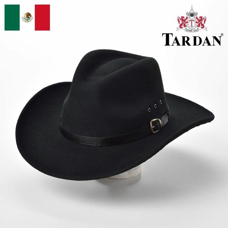 帽子 ウエスタンハット TARDAN(タルダン) TUCSON CONFORT(ツーソン コンフォート)ブラック