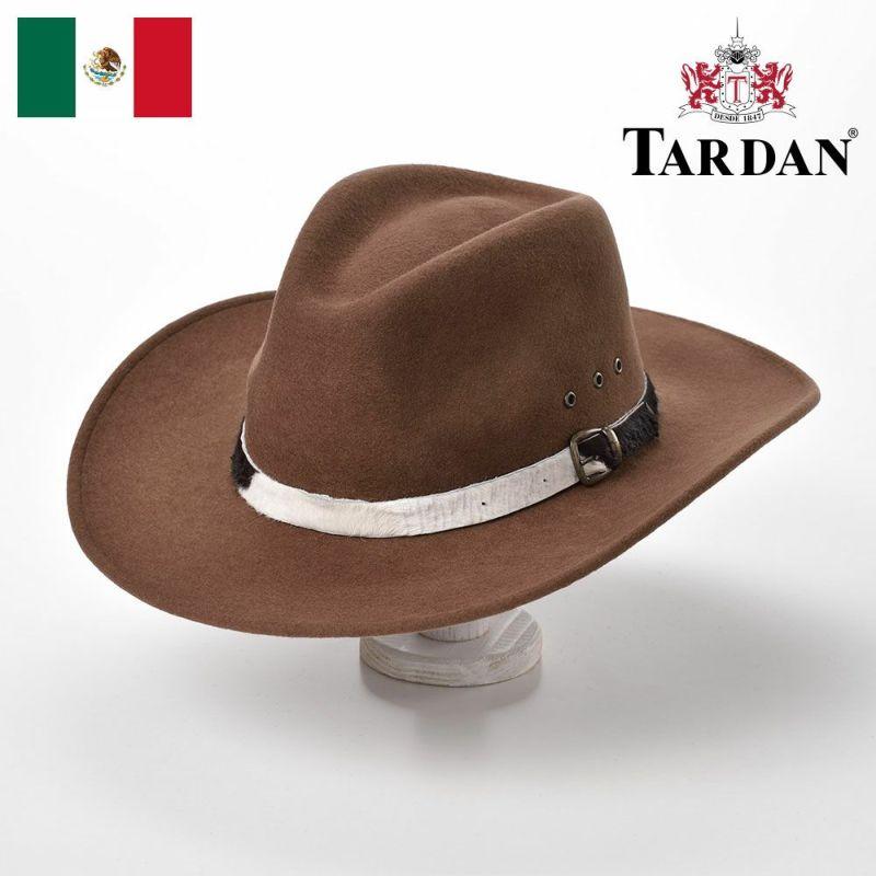 帽子 ウエスタンハット TARDAN(タルダン) TUCSON CONFORT(ツーソン コンフォート)ヘーゼルナッツ