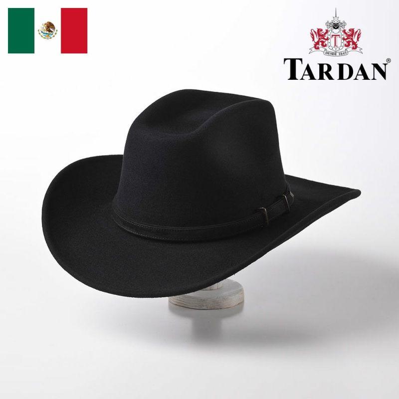 帽子 ウエスタンハット TARDAN(タルダン) COLORADO CONFORT(コロラド コンフォート)ブラック