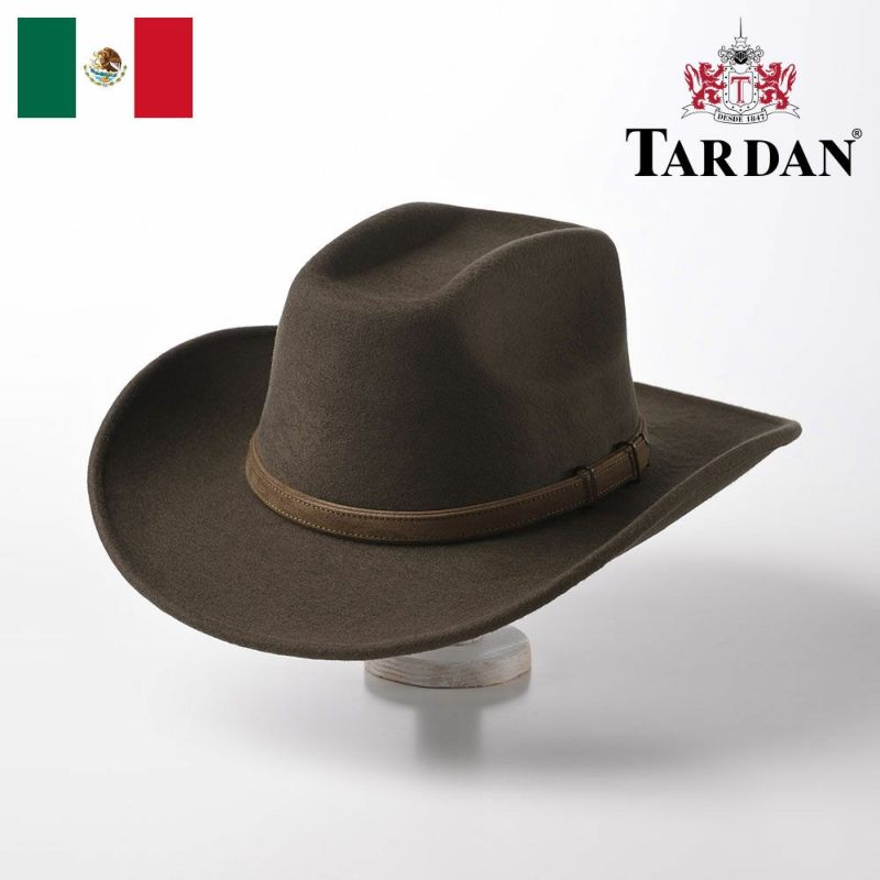 帽子 ウエスタンハット TARDAN(タルダン) COLORADO CONFORT(コロラド コンフォート)モスグリーン