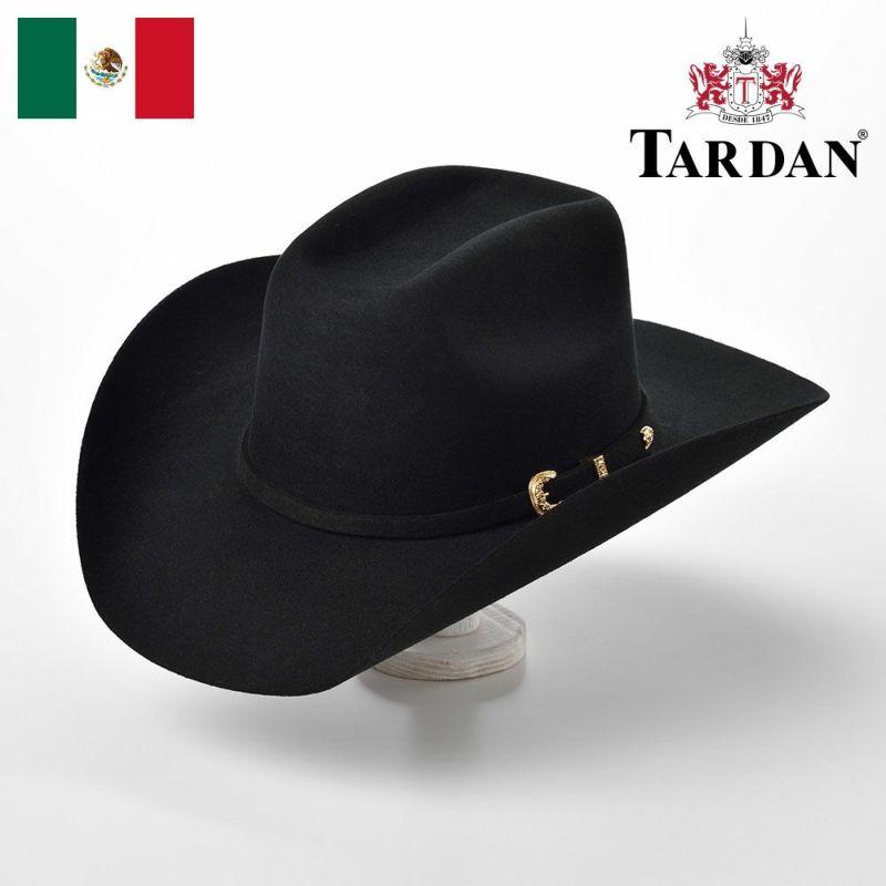 帽子 ウエスタンハット TARDAN(タルダン) WALTON 8 SECONDS(ウォルトン 8セカンズ)ブラック