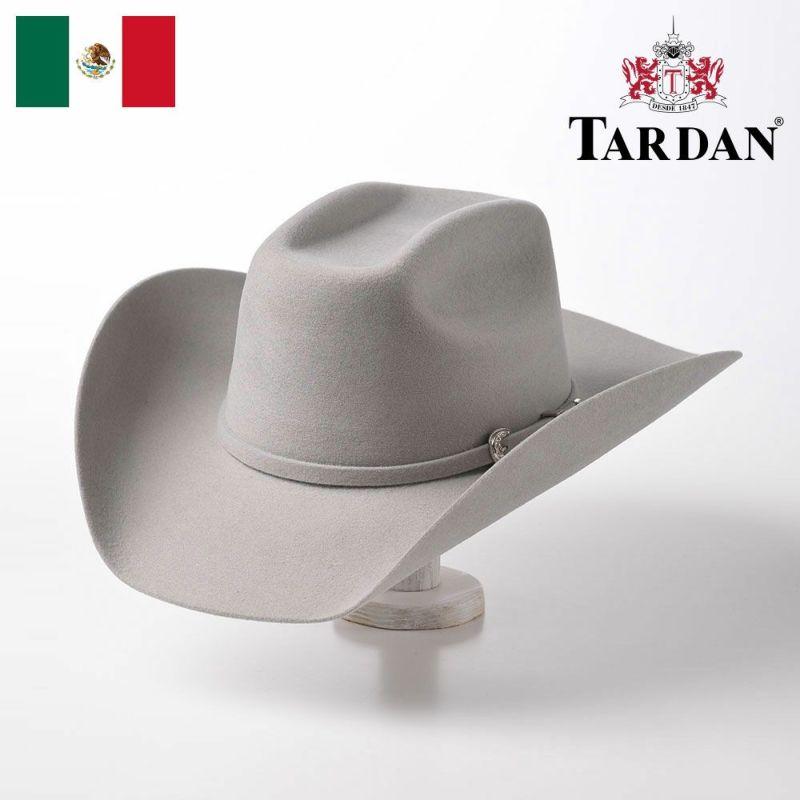 帽子 ウエスタンハット TARDAN(タルダン) WALTON 8 SECONDS(ウォルトン 8セカンズ)パールグレー