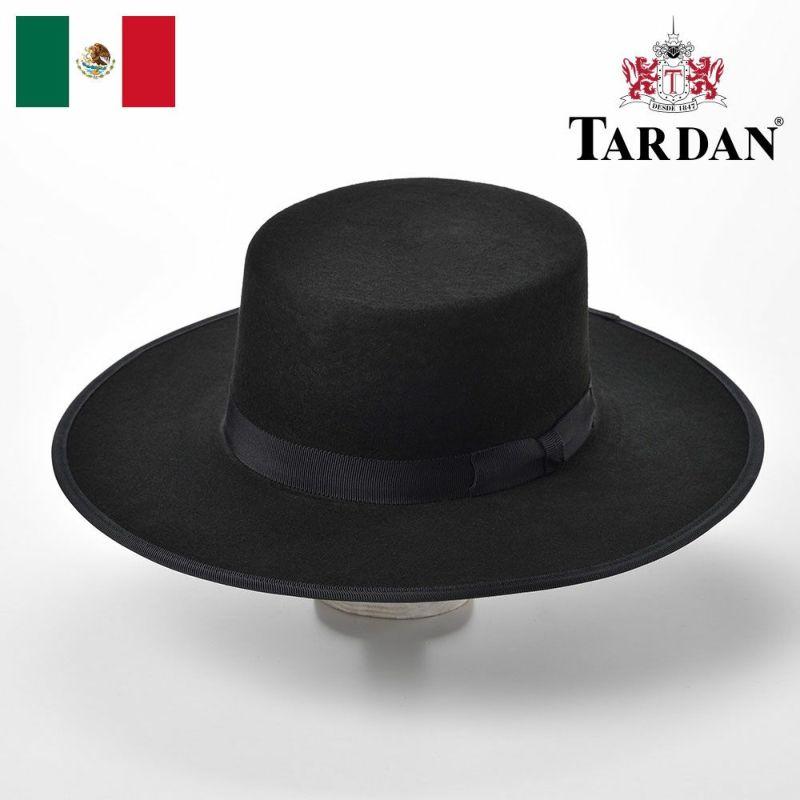帽子 フェルトハット TARDAN(タルダン) WALTON SEVILLIAN(ウォルトン セビリアン)ブラック