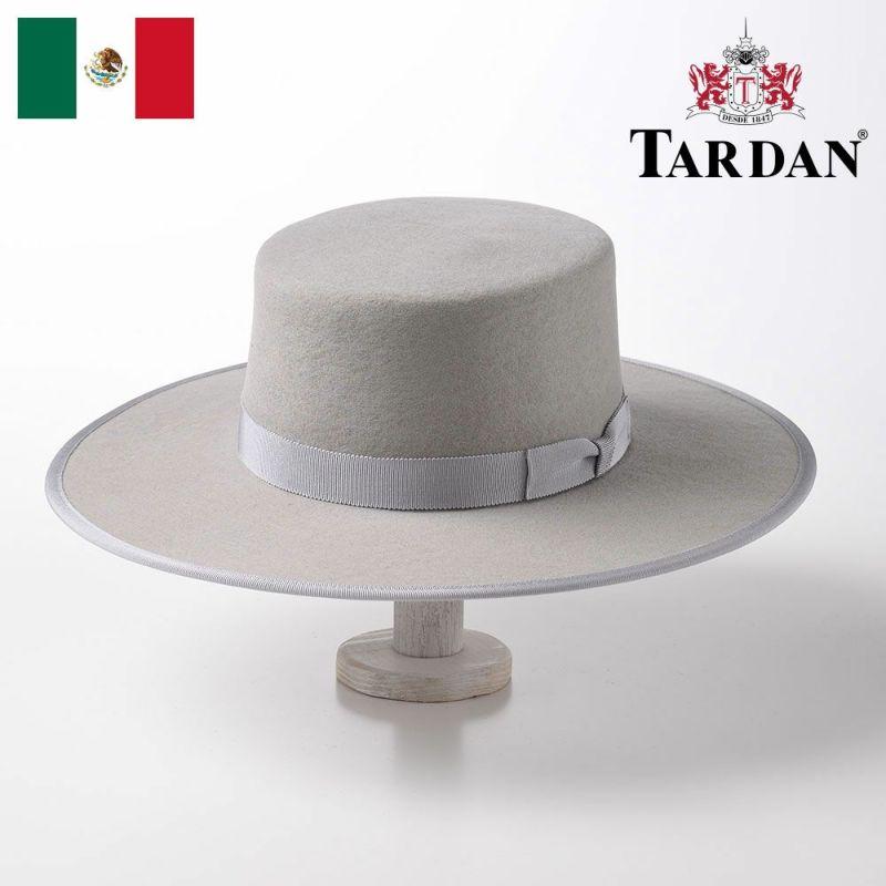 帽子 フェルトハット TARDAN(タルダン) WALTON SEVILLIAN(ウォルトン セビリアン)パールグレー