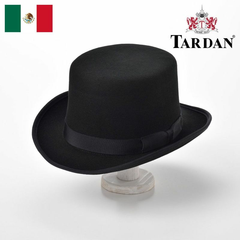 帽子 フェルトハット TARDAN(タルダン) Modern Top hat(モダントップハット)ブラック