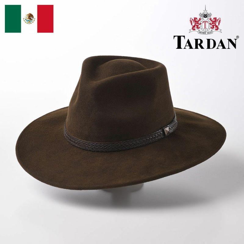 帽子 ウエスタンハット TARDAN(タルダン) AUSTRALIANO CONFORT(オーストラリアーノ コンフォート)ブラウン