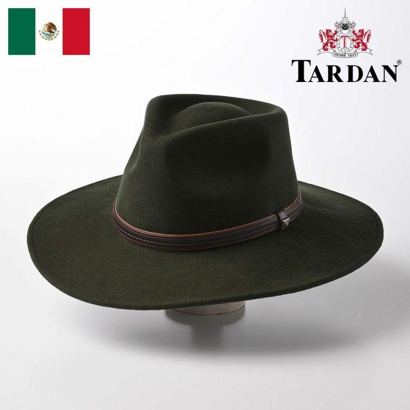 帽子 ウエスタンハット TARDAN(タルダン) AUSTRALIANO CONFORT(オーストラリアーノ コンフォート)オリーブ