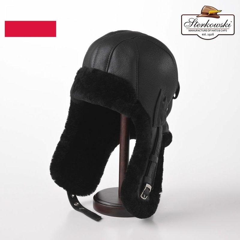 帽子 飛行帽 Sterkowski(ステルコフスキー) Delling(デリング)ブラック