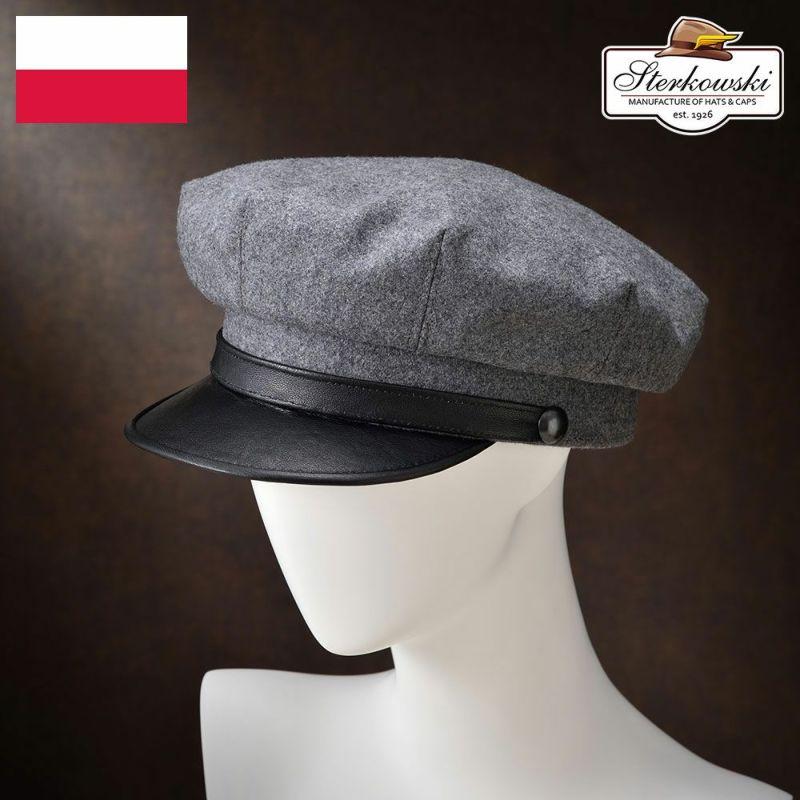 帽子 キャップ Sterkowski(ステルコフスキー) Tyr(テュール)グレー