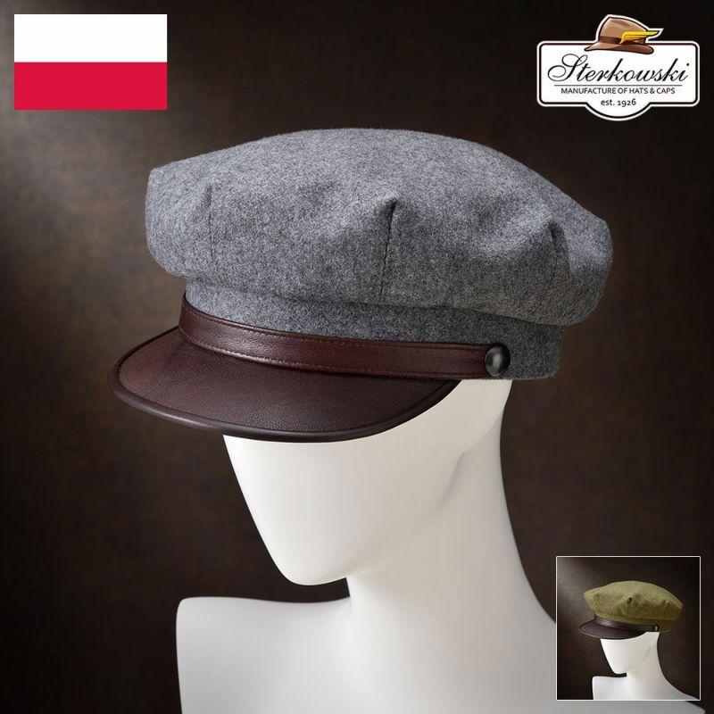 帽子 キャップ Sterkowski(ステルコフスキー) Valhalla(ヴァルハラ)グレー