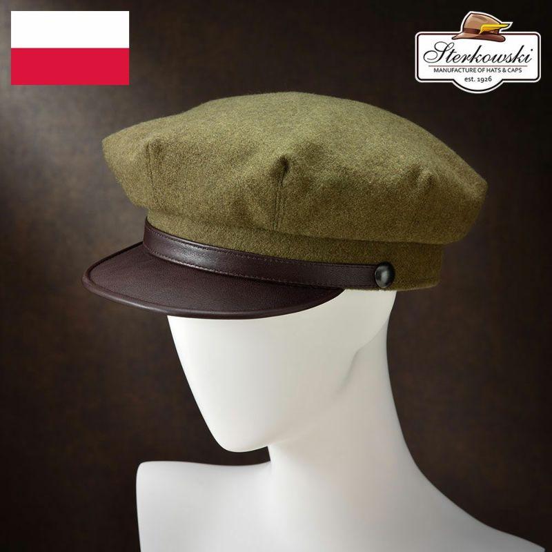 帽子 キャップ Sterkowski(ステルコフスキー) Valhalla(ヴァルハラ)オリーブ