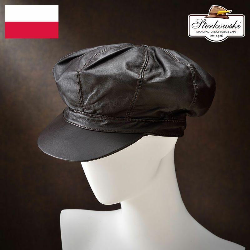 帽子 キャップ Sterkowski(ステルコフスキー) Kugel(クーゲル)ブラウン