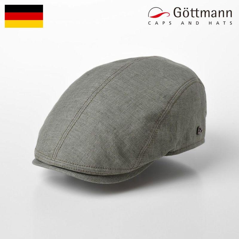 帽子 ハンチング Gottmann(ゴットマン) Jackson Linen(ジャクソン リネン )G2638100 カーキ