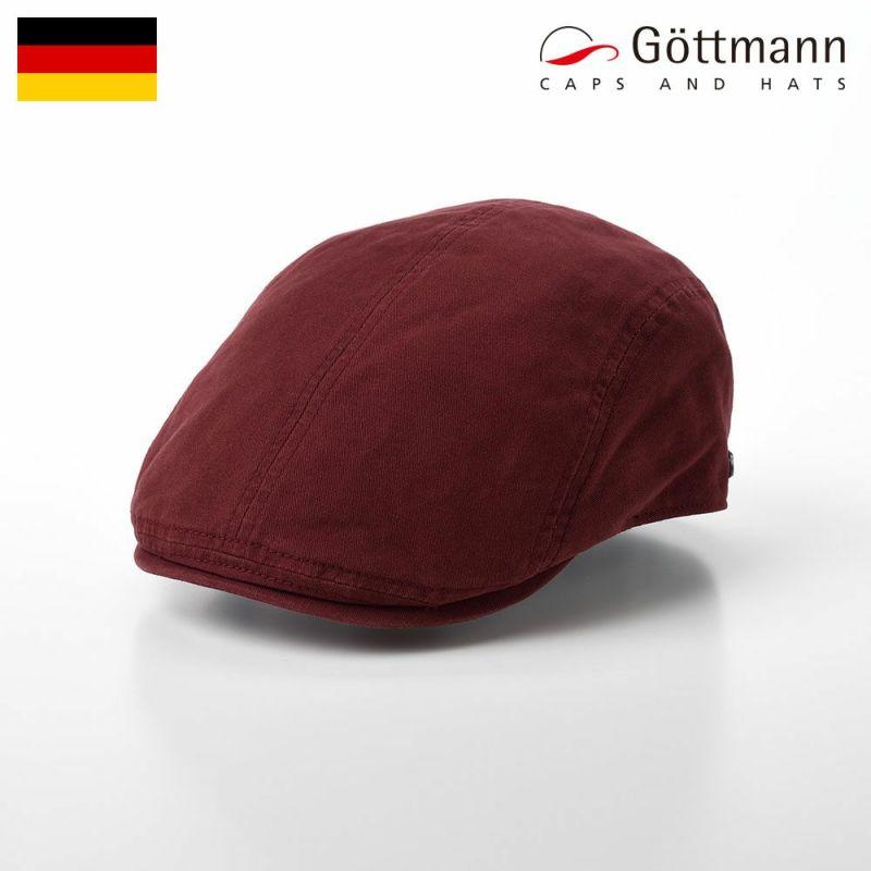 帽子 ハンチング Gottmann(ゴットマン) Orlando Cotton(オーランド コットン)G29922210 レッド