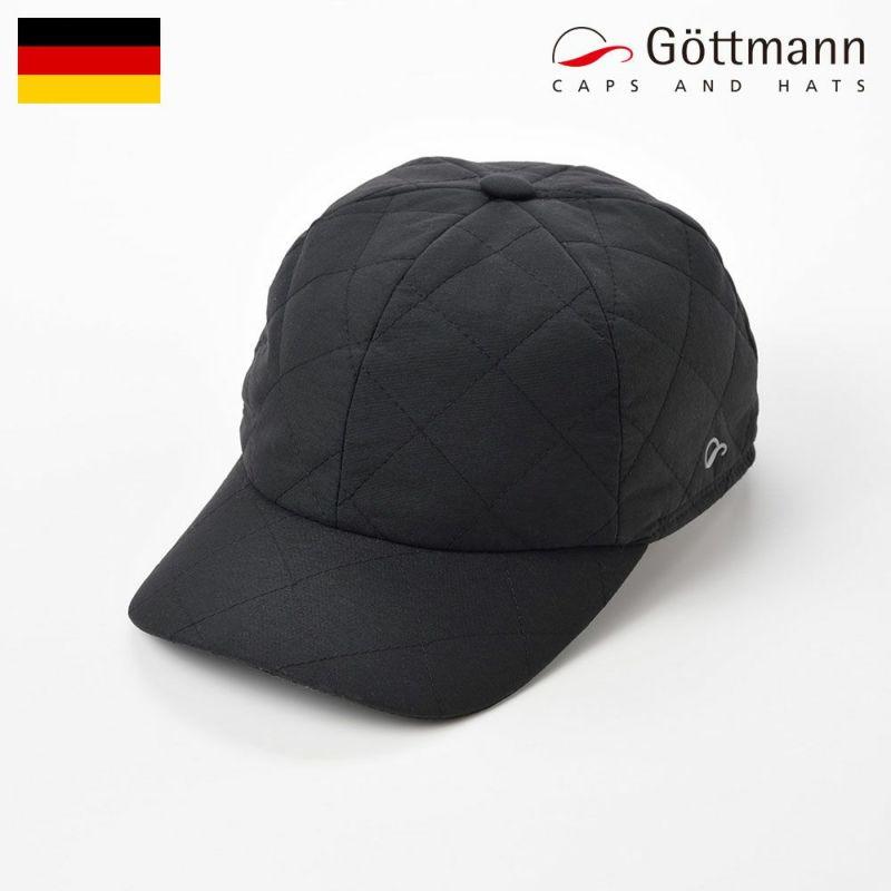 帽子 ハンチング Gottmann(ゴットマン) Polo Water Repellent(ポロ ウォーター リプレント)ブラック