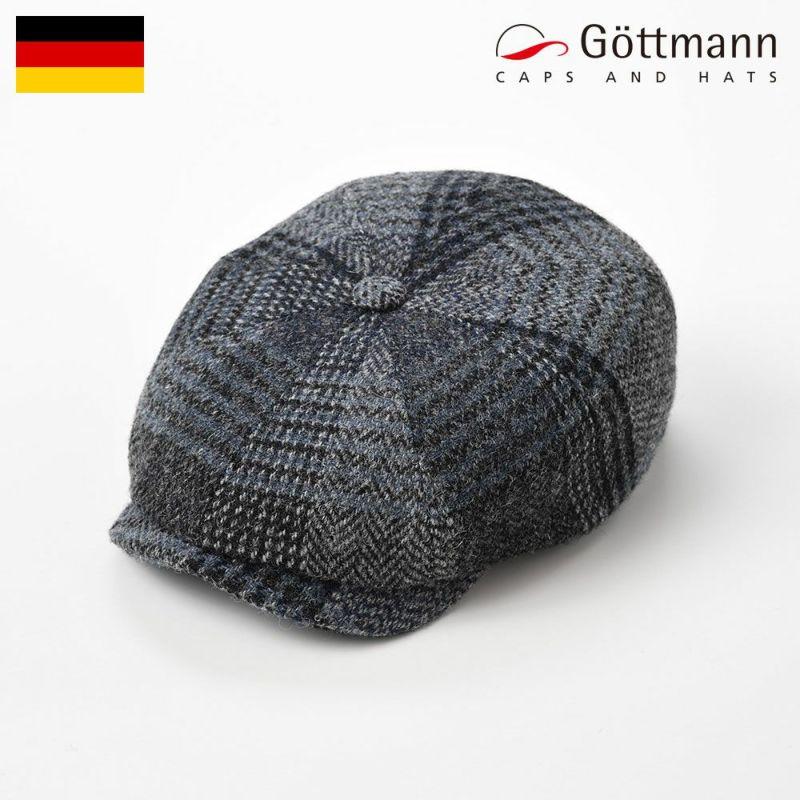 帽子 ハンチング Gottmann(ゴットマン) Princeton Harris Tweed(プリンストン ハリスツイード)G2790996 グレー
