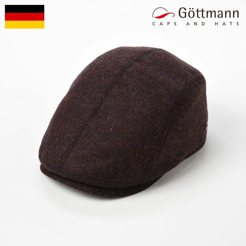 帽子 ハンチング Gottmann(ゴットマン) Jackson Wool(ジャクソン ウール)G2696754 レッド