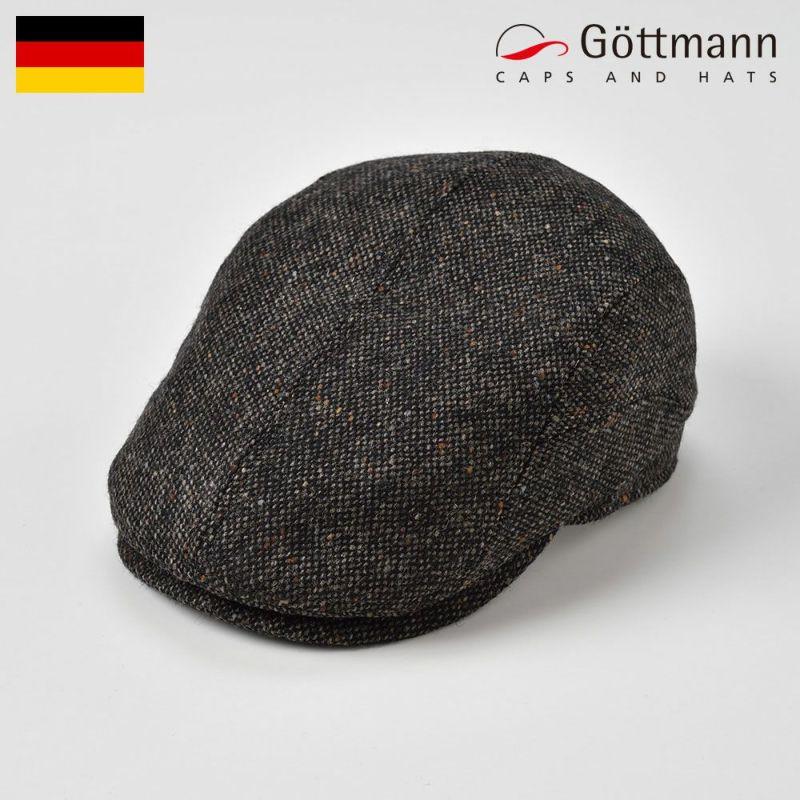 帽子 ハンチング Gottmann(ゴットマン) Belvedere Wool(ベルヴェデーレ ウール)G2773456 ブラック