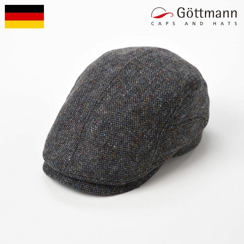 帽子 ハンチング Gottmann(ゴットマン) Belvedere Wool(ベルヴェデーレ ウール)G2773456 ブルーグレー