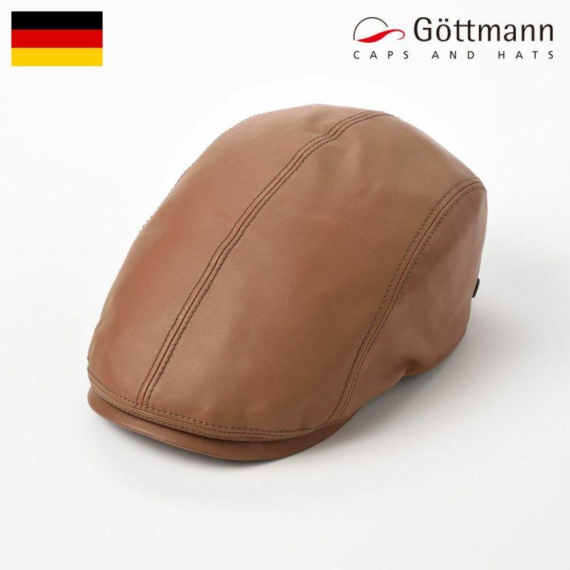 帽子 ハンチング Gottmann(ゴットマン) Jackson Sheep Leather(ジャクソン シープレザー)G2639215 キャメル