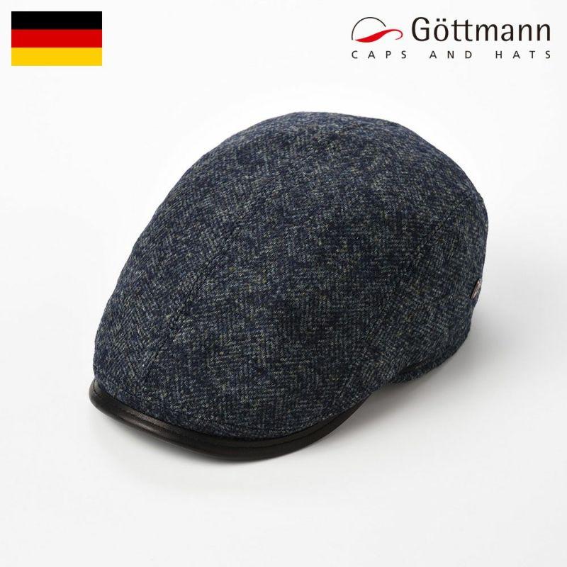 帽子 ハンチング Gottmann(ゴットマン) Xaviera Motley(ザビエラ モトリー)G2659306 ブルーグリーン