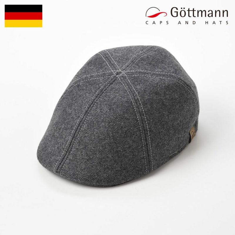 帽子 ハンチング Gottmann(ゴットマン) Carapace Six Panel(キャラペイス シックスパネル)G2288194 グレー