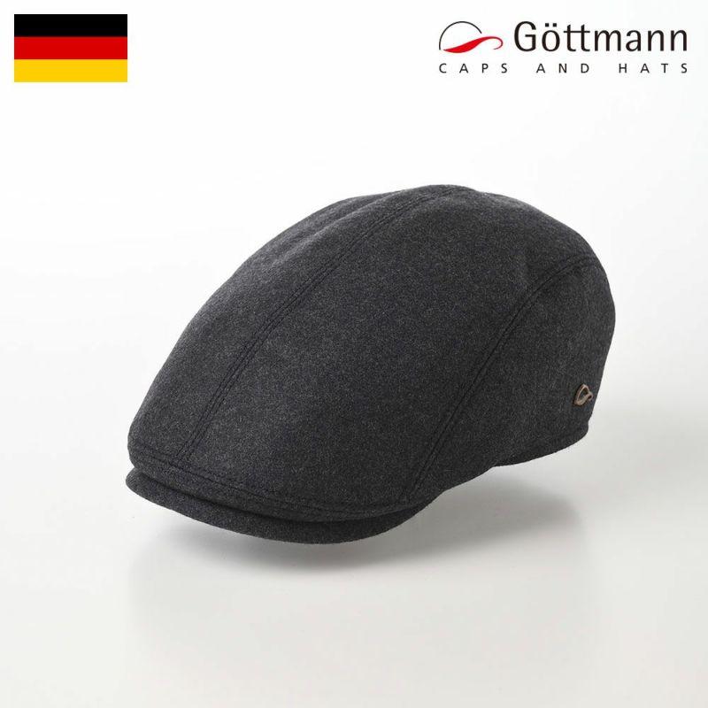 帽子 ハンチング Gottmann(ゴットマン) Jackson Smooth(ジャクソン スムース)G2638194 ダークグレー