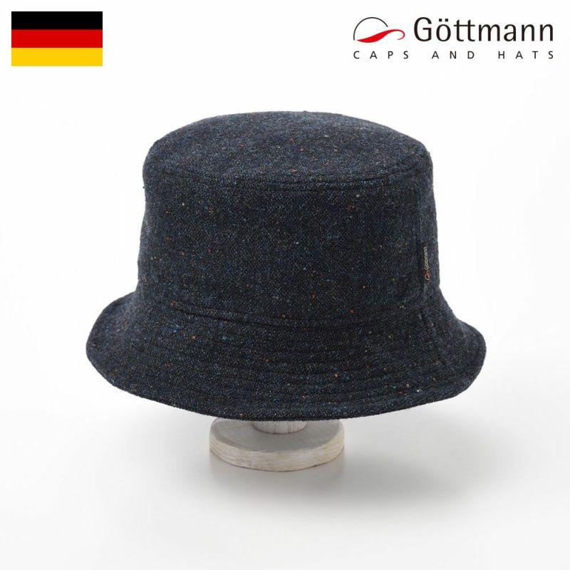帽子 ハンチング Gottmann(ゴットマン) Bucket Hudson(バケット ハドソン)G2806303 ブラック