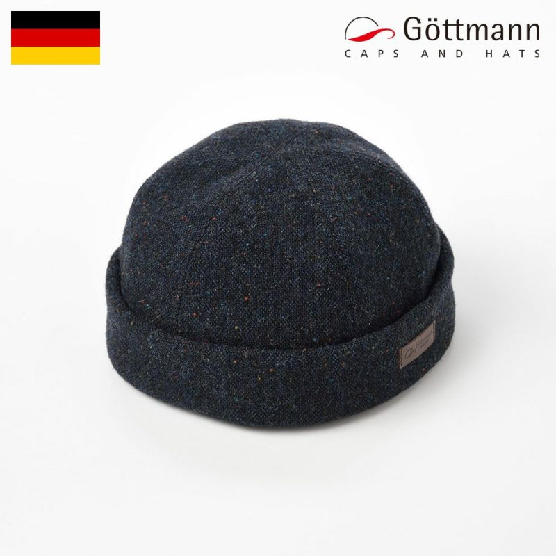 帽子 ハンチング Gottmann(ゴットマン) Docker Dot(ドッカー ドット)G2774303 ダークブルー
