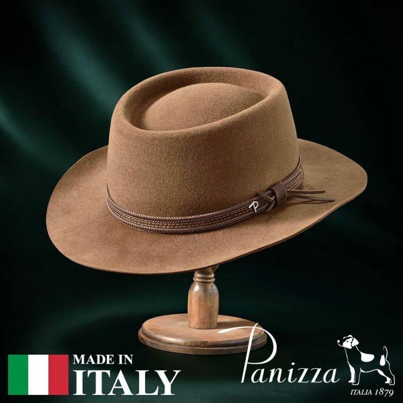 帽子 フェルトハット Panizza(パニッツァ) TRIESTE  SATURNO(トリエステ サトゥルノ)