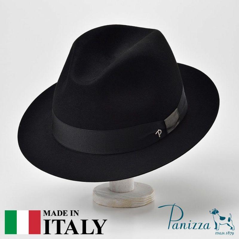帽子 フェルトハット Panizza(パニッツァ) ROMA PAVONE(ローマ パヴォーネ)