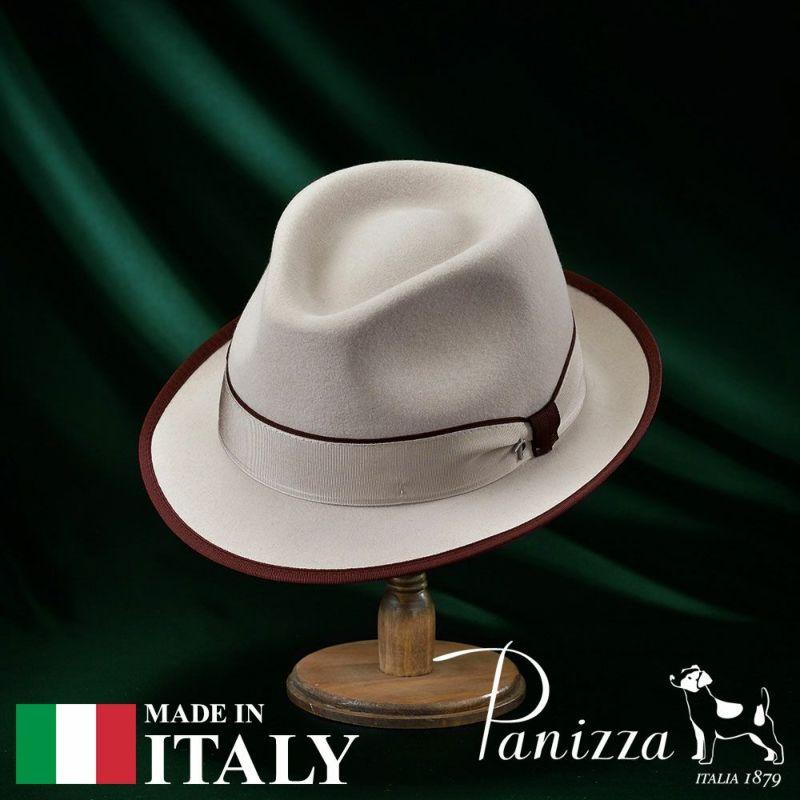 帽子 フェルトハット Panizza(パニッツァ) LECCO MERINGA(レッコ メリンガ)