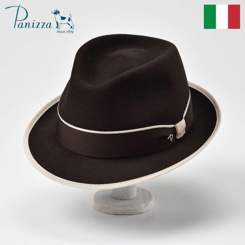 帽子 フェルトハット Panizza(パニッツァ) LECCO TORTA(レッコ トルタ)