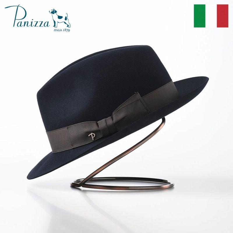 帽子 フェルトハット Panizza(パニッツァ) PISA ALLA MODA(ピサ アラ モダ)ダークブルー