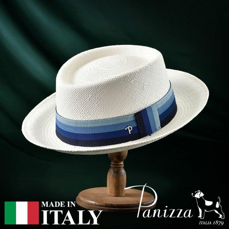 帽子 パナマハット Panizza(パニッツァ) FABRIZIO BIANCO(ファブリツィオ ビアンコ)