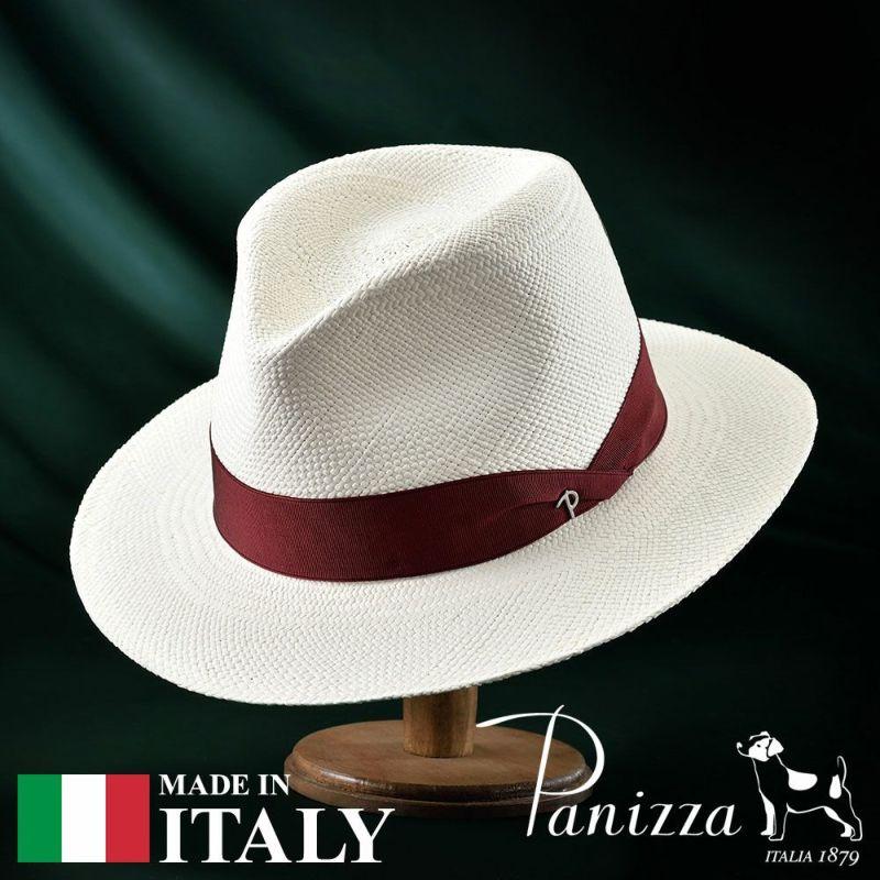帽子 パナマハット Panizza(パニッツァ) ZAMORA BIANCO(サモーラ ビアンコ)