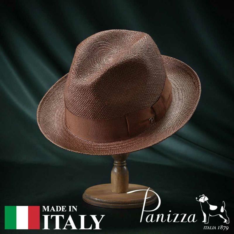 帽子 パナマハット Panizza(パニッツァ) MAX CALORE(マックス カローレ)